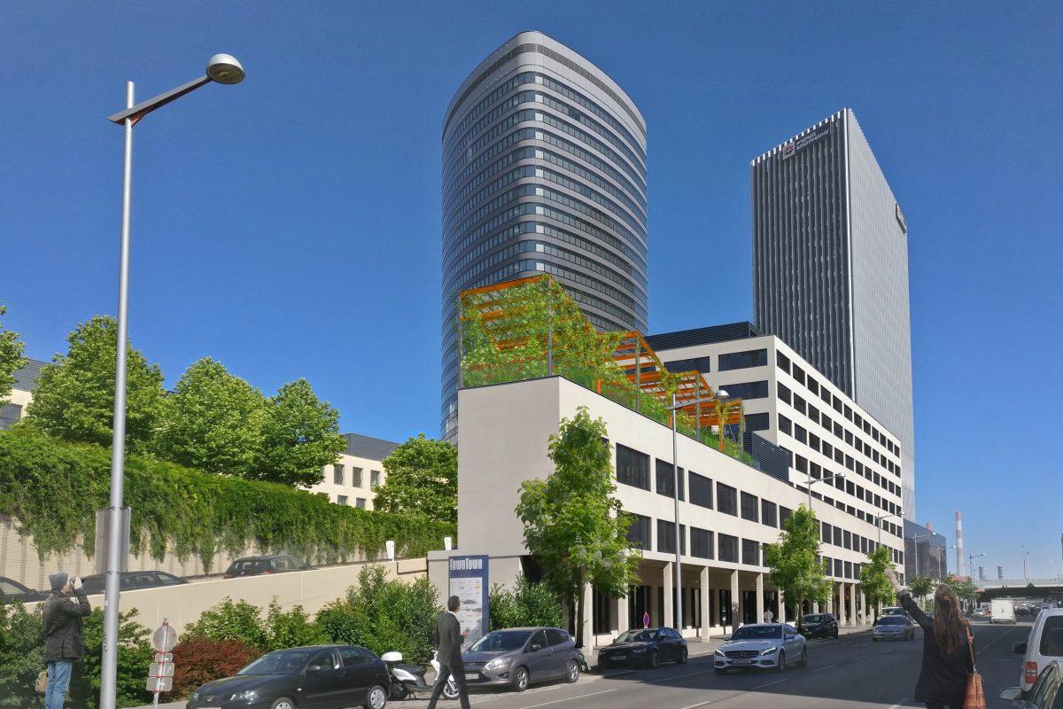 1_PV-Dachgarten_Schaubild Ansicht 2 Straßenseite