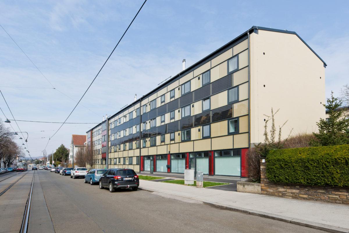 02 Treberspurg Architekten Passivhaus Hütteldorfer Straße Wien