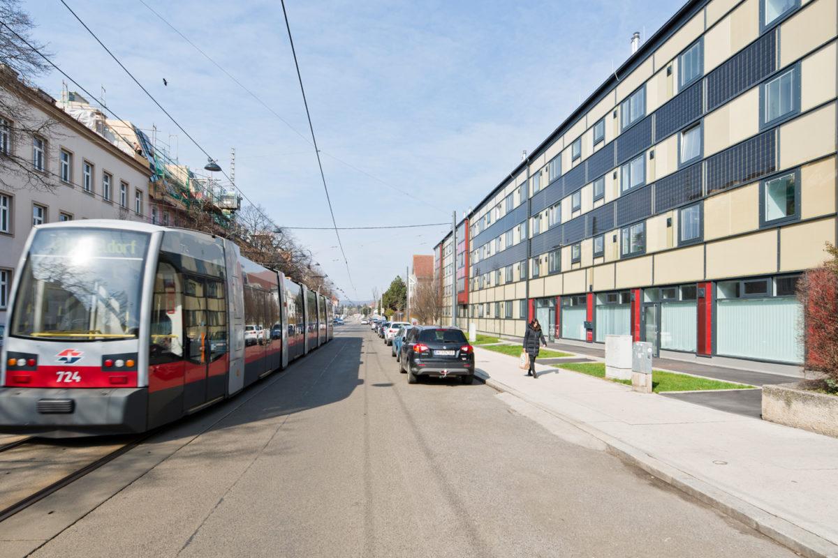 03 Treberspurg Architekten Passivhaus Hütteldorfer Straße Wien