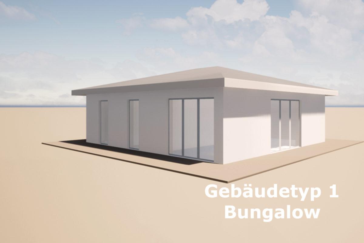 Gebäudetyp 1 Bungalow