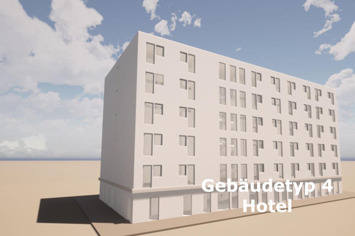 Gebäudetyp 4 Hotel